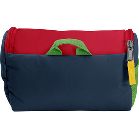 VAUDE Big Bobby Toiletry Bag Kinder marine/red